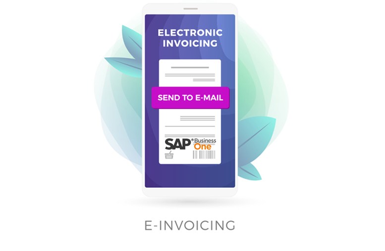 GST E-Invoice Management using SAP Business One